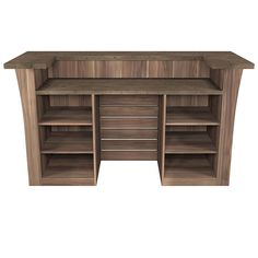Meuble-comptoir de bar BLOW XXL mérano brun (vue arrière) 1399 € Corner Desk, Bookcase, Shelves, Mini Bars, Furniture, Interiors, Home Decor, Bar Counter, Furniture Collection