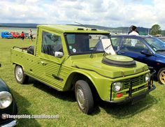 Citroen mehari pick-up (Retro Meus Auto Madine 2012) 01