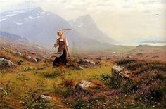 Hans Dahl (1849- 1937) was a Norwegian artist who was specialized in painting Norwegian landscapes. When he was 16 years old, he exhibited h...
