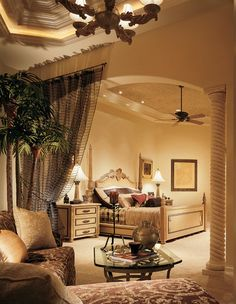 747 Best Interior Design: Old World/Traditional/Tuscan Bedrooms ...