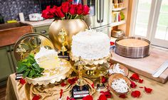 Cristina Cooks: Coconut Lemon-Filled Cake