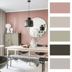 Ideal Life Ideas How to choose colors to decor your room? Start with this article and get new ideas! Office Wall Colors, Office Color Schemes, Bedroom Color Schemes, Colour Schemes For Living Room, Room Color Ideas Bedroom, Modern Living Room Colors, Paint Colors For Home, House Colors, Cores Home Office