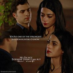 "#Shadowhunters 2x08 ""Love Is a Devil"" - Izzy and Raphael"