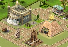Gardens of Time...my favourite game on Facebook & all the friends I have made!