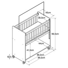 Baby Crib Diy, Baby Cribs, Baby Furniture, Furniture Plans, Newborn Bed, Baby Staff, Baby Deco, Home Decor Shelves, Baby Baskets
