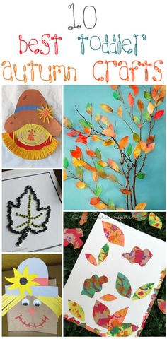 10 Of The Best Toddler Autumn Crafts For Little Hands Are you excited about spending special time with your kid this fantastic autumn? Here is a collection of 10 amazing ideas for autumn crafts for preschoolers Autumn Crafts, Fall Crafts For Kids, Thanksgiving Crafts, Holiday Crafts, Art For Kids, Fall Activities For Toddlers, Autumn Activities, Craft Activities, Toddler Art
