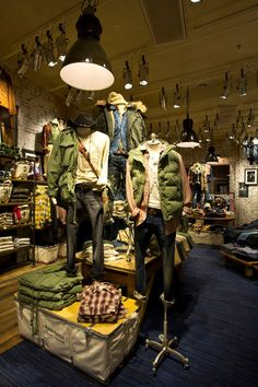 Denim & Supply Ralph Lauren store in Malmo, Sweden.