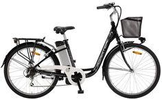 Nueva e-Bike de #Adriatica, modelo E1 Lady en negro. #avantumbikes