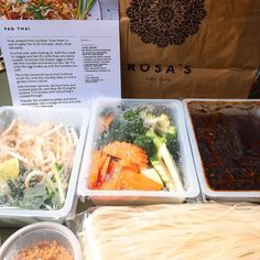 Anyone fancy a Rosa's Pad Thai Kit?? (Not for sale we're testing out ideas ) Let us know what you think! #cooking #thaifood #freshingredients #padthai
