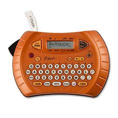 Brother Personal Handheld Labeler with special time & date function: Brother P-Touch Thermal Label Printer Thermal & Label Printers Electronics Projects, Electronic Dictionary, Text Frame, Thermal Printer, Thing 1, Printing Labels, 3d Printing, Getting Things Done, Touch
