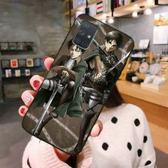 Anime Japanese Attack On Titan Newly Arrived Cell Phone Case For Samsung A10 A20 A30 A40 A50 A70 A80 A71 A91 A51 A6 A8 2018|Half-Wrapped Cases| Samsung Cases, Cell Phone Cases, Attack On Titan, Christmas Gifts, Japanese, Anime, Xmas Gifts, Christmas Presents, Japanese Language