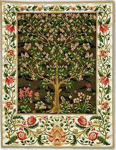 Tree Of Life Belgian Tapestry