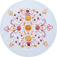 Free embroidery pattern.