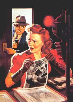 Norm Saunders Pulps | Norman Saunders » Lost At E Minor: For creative people
