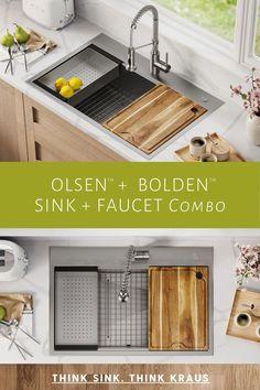 diy renovation drop in kitchen sink