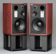 Two way speaker system - Kralk Audio Loudspeakers Big Speakers, Home Audio Speakers, Audiophile Speakers, Monitor Speakers, Audio Room, Hifi Audio, Sound Room, Speaker Design, High End Audio
