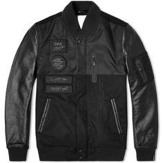 Nike Lab x Mo' Wax Destroyer Jacket (Black)