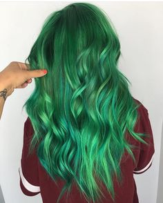 "9,898 Likes, 53 Comments - Pulp Riot Hair Color (@pulpriothair) on Instagram: ""Nirvana, Area 51, and Absinthe... @hairbyashleyenstrom is the artist... Pulp Riot is the paint."""