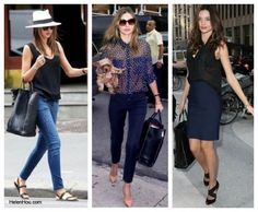Perfect Workhorse: Miranda Kerr and Her Celine Cabas Tote (here it goes well with dark-colored outfits)
