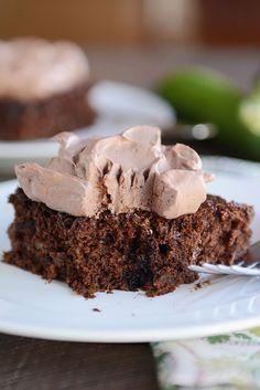 The Best Chocolate Zucchini Cake