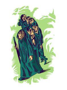 Esgar Acelerado :: Pilgrims on the Way to Santiago de Compostela