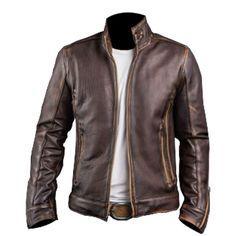 Cafe Racer Stylish Biker Brown Leather Jacket,biker jacket,jackets for men,boys ,Cafe Racer jacket,motorcycle jacket for men,motorcycle jacket for boys