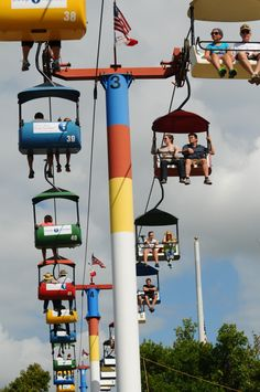 Ladies and gentlemen! Boys and girls! Come one, come all to the Iowa State Fair! As the largest event in the state of Iowa, there is sure to be fun for everyone at this year's Iowa State Fair, which runs from August 7-17.