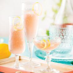 Rosé mousseux tequila-citron - Recettes - Cuisine et nutrition - Pratico Pratique