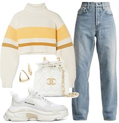 lorie Outfit - Source by - Cute Casual Outfits, Swag Outfits, Mode Outfits, Retro Outfits, Stylish Outfits, Aesthetic Fashion, Aesthetic Clothes, Look Fashion, Korean Fashion