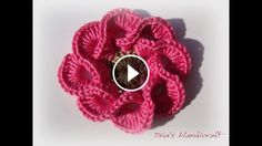 This flower crochet pattern is one of the most gorgeous pattern that you will ever see. The stitch technique used on it make this flower extremely beautiful.