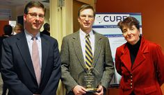 Craig M. Crews of Yale University was presented the first annual CURE Entrepreneur of the Year Award, sponsored by the law firm of Shipman &...