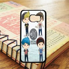 5 Second Of Summer 5 Sos Art Music Samsung Galaxy S7 Edge Case