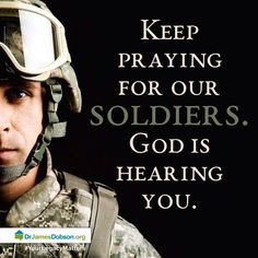 Soldiers, Marines, Sailors, Airmen-- ALL Military; God please keep Your Hand on them! Military Quotes, Military Mom, Army Mom, Military Girlfriend, Gi Joe, Keep Praying, My Champion, Support Our Troops, Pray For Us