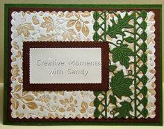 Cheery Lynn Designs, Fall Leaf Mesh Border, В325, 19,1 х 5,1 см