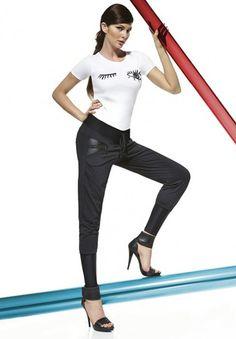Bas Bleu Alexa 200 denier Women's Leggings, Black Leggings, Tights, Luxury Lingerie, Fashion Brands, Capri Pants, Sporty, Sexy, Fashion Design