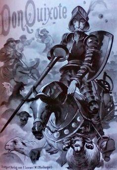 Portada, Don Quixote, de Gottfried Franz.