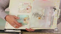 Melissa Frances: Paper Matchbook Album       In today's episode Melissa shows how to create a classic matchbook  album.  She will ...