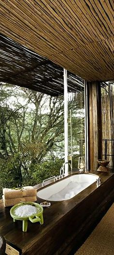 South Africa, Singita Sweni Lodge http://singita.com/sweni-lodge/