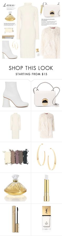 """. . ."" by rasa-j ❤ liked on Polyvore featuring MM6 Maison Margiela, Marni, The Row, Zadig & Voltaire, Maybelline, Lana, Lalique, Stila, Dolce&Gabbana and Yves Saint Laurent"