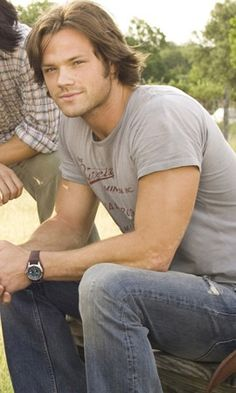 Jared Padalecki - Michael, the grieving accountant who doesn't believe in magic!