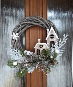 Rose Gold Christmas Decorations, Easy Christmas Crafts, Noel Christmas, Christmas Centerpieces, Rustic Christmas, Xmas Decorations, Christmas Projects, Simple Christmas, Christmas Ornaments