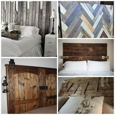 a diy headboard for every style, diy, repurposing upcycling, Wood Trim Headboard via The Graphics Fairy