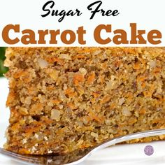 These are the some of the best tasting Sugar Free and Keto Snacks for Right Now! Some are both sugar free, keto and also low in carbs. Sugar Free Carrot Cake, Sugar Free Deserts, Healthy Carrot Cakes, Sugar Free Chocolate, Sugar Free Recipes, Healthy Sugar, Sugar Cake, Eat Healthy, Healthy Living