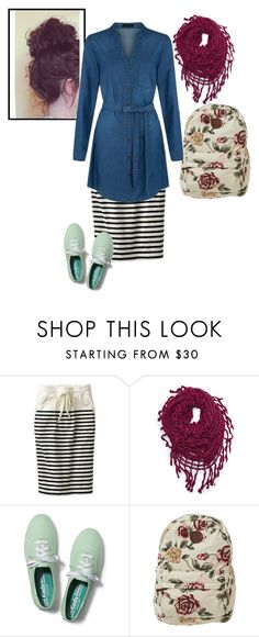 """""""Curly Girly"""" by apostolic-pentecostal-holiness ❤ liked on Polyvore featuring Uniqlo, Steve Madden, Keds and Billabong"""