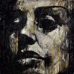 Guy Denning, Fucked up Celebrity Portrait 2008 Portraits, Portrait Art, Face Art, Sculpture, Art And Architecture, Painting & Drawing, Painting Styles, Cool Art, Art Projects