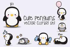 Resultado de imagen para cute penguin clipart