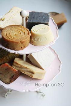 Jabones hechos en casa Homemade soaps