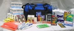 4 Person Survival Kit Deluxe Perfect Earthquake, Evacuation, Emergency Disaster $299.99 Now for sale on Ebay http://cgi.ebay.com/ws/eBayISAPI.dll?ViewItemitem=281358879101