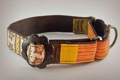Handmade Dog Collar 1.5 Martingale Unique Designer by PuppyRiot