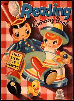 Merrill ''Reading Coloring Book'' | eBay
